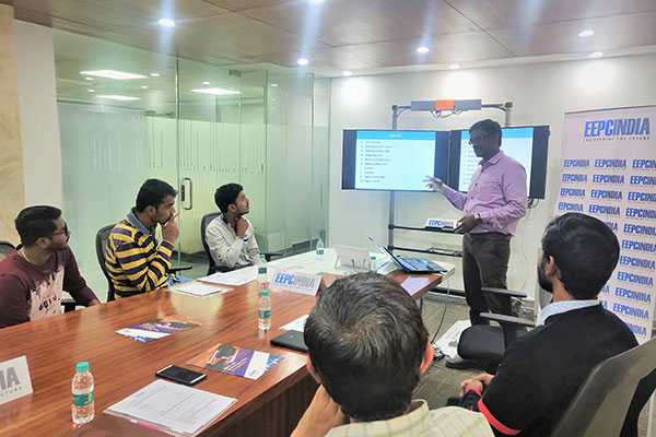 Training session on Value Stream Mapping in progress.