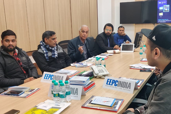EEPC India (RO), New Delhi apprised the New Members of the activities of EEPC India in an exclusive session with them.