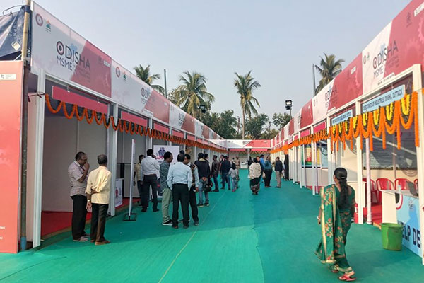 Glimpse of the exhibition.