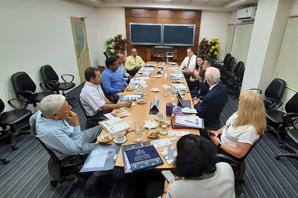 Delegates from Michigan in the U.S.A visited and met the officials at EEPC India RO Chennai .  Mr S Rajagopalan, Sr Deputy Director, EEPC India and Mr Karthik Selvaraj, Sr Executive Officer, EEPC India were present