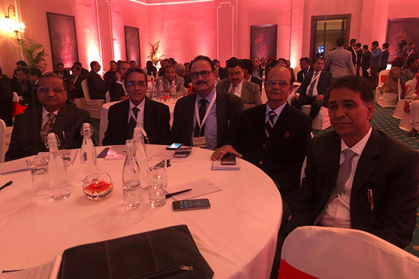 EEPC India Former Chairman, Mr P K Shah; Vice Chairman, Mr Arun Kumar Garodia  and Chairman, Mr Ravi Sehgal attended the Interaction of  Hon'ble Finance Minister - Ms Nirmala Sitharaman with Trade & Industry representatives on Union Budget 2020 in Kolkata.