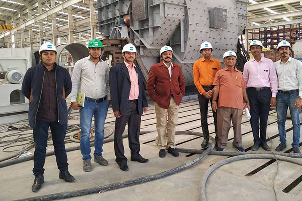 Mr Sudhakaran Nair, Deputy Director, EEPC India alongwith their officials visited Chicago Blower Plant.