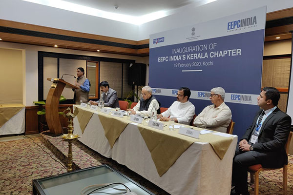 Mr. K. S. Mani, Regional Chairman, EEPC India (SR) welcoming the members.