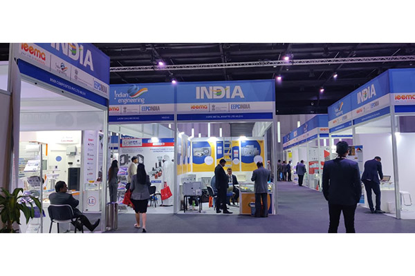 India Pavilion booths