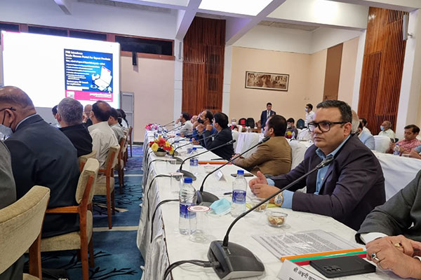 EEPC India Regional Director (NR), Mr Rakesh Suraj attends the Meeting of the Parliamentary Committee on Commerce with the Exporters in Srinagar to Augment Infrastructure Facilities to Boost Exports.